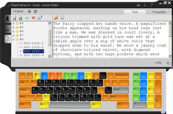 英文打字練習軟體 RapidTypin 免安裝中文版