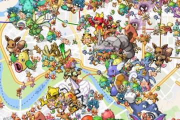 Pokemon Go 地圖分布查詢工具 – 地圖尋寶GO!