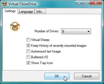 虛擬光碟機軟體下載 Virtual CloneDrive