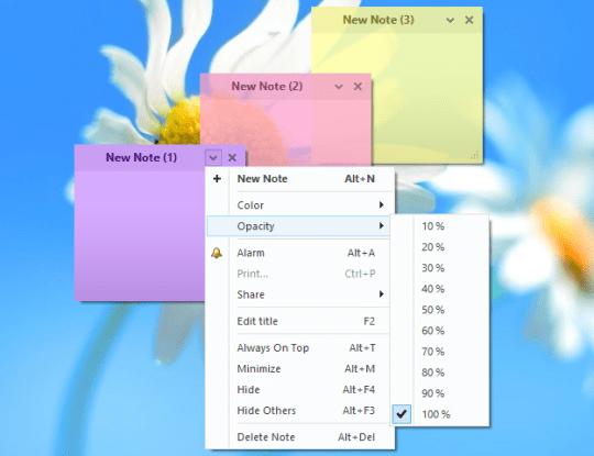 電腦桌面便利貼軟體下載 - Simple Sticky Notes 自黏便籤