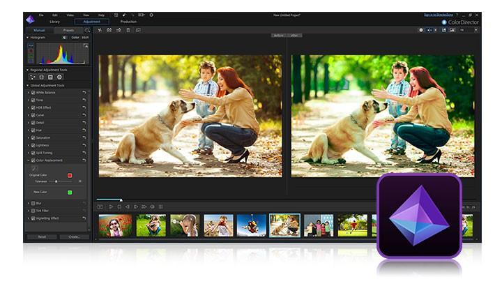 相片編輯軟體 Photodirector 9 限時免費下載