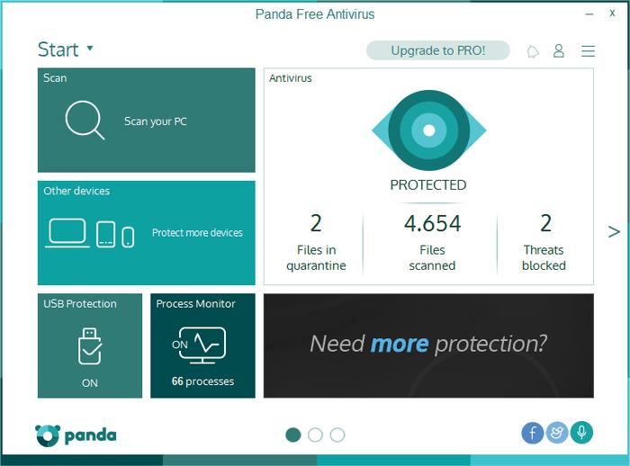 Panda防毒軟體免費版下載 Panda Free Antivirus