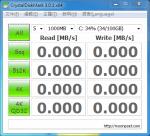 硬碟測速軟體 CrystalDiskMark 免安裝中文版