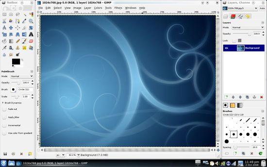 Gimp中文下載點 免費強大的影像編輯軟體