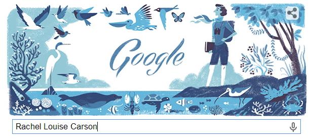 Rachel Louise Carson 瑞秋·卡森 海洋生物學家 107 誕辰