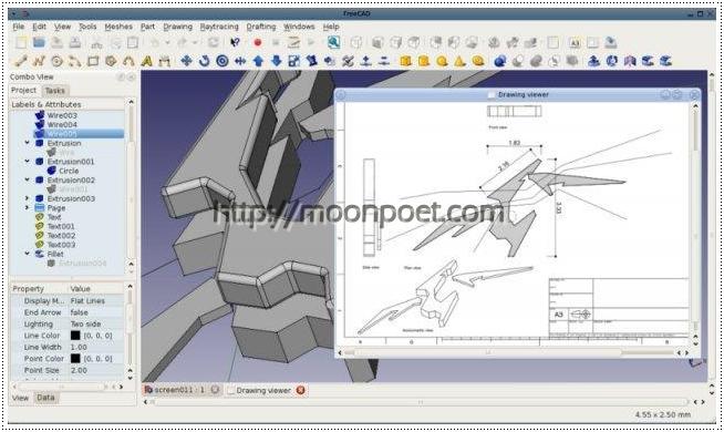 AutoCAD替代軟體 – 免費工業繪圖軟體 FreeCAD