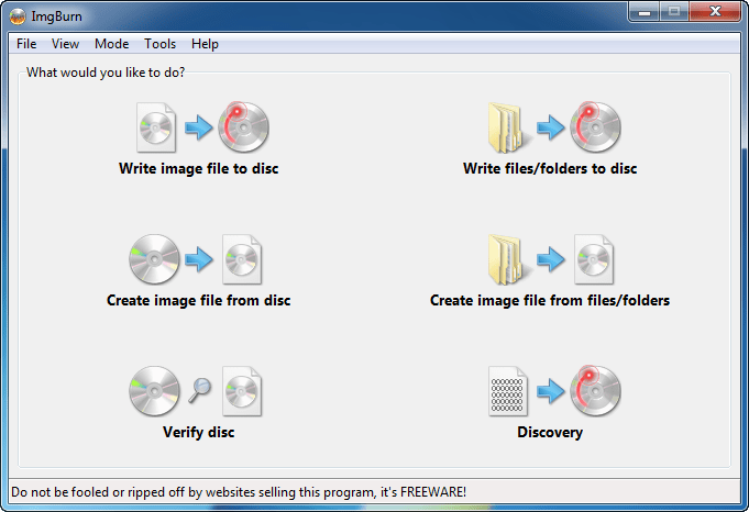 imgburn 燒錄軟體中文版 免費