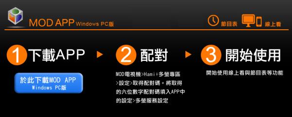 電腦看mod 中華電信開放MOD電腦版下載