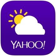 yahoo氣象app 超漂亮的世界氣象預報程式
