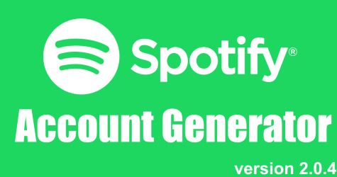 free spotify premium accounts generator