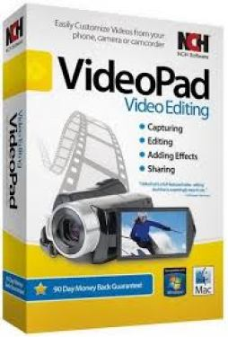 VideoPad Video Editor 8.96 Beta Crack + License Key Free Download