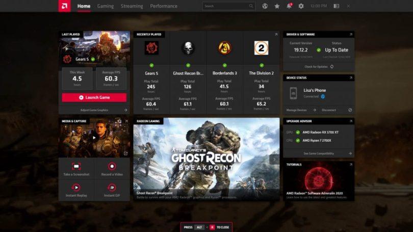 AMD Radeon Adrenalin Edition Crack + Torrent 2020 Free Download [ Latest ]