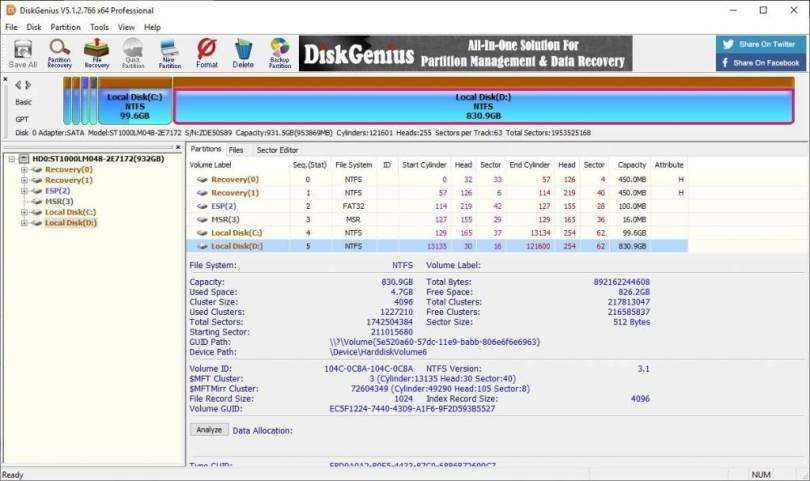 DiskGenius Professional 5.4.2.1239 Crack + Serial Key 2021 Download