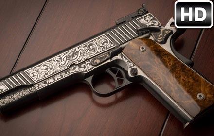 Guns Wallpaper HD New Tab Gun Weapon Themes Free Addons