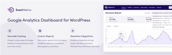 13 best google analytics plugins for wordpress get set up faster and easier 3 - 13 BEST Google Analytics Plugins for WordPress: Get Set Up Faster And Easier