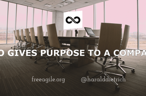 People give purpose to a company