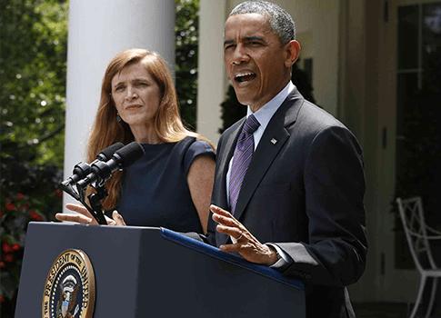 Image result for samantha power barack obama