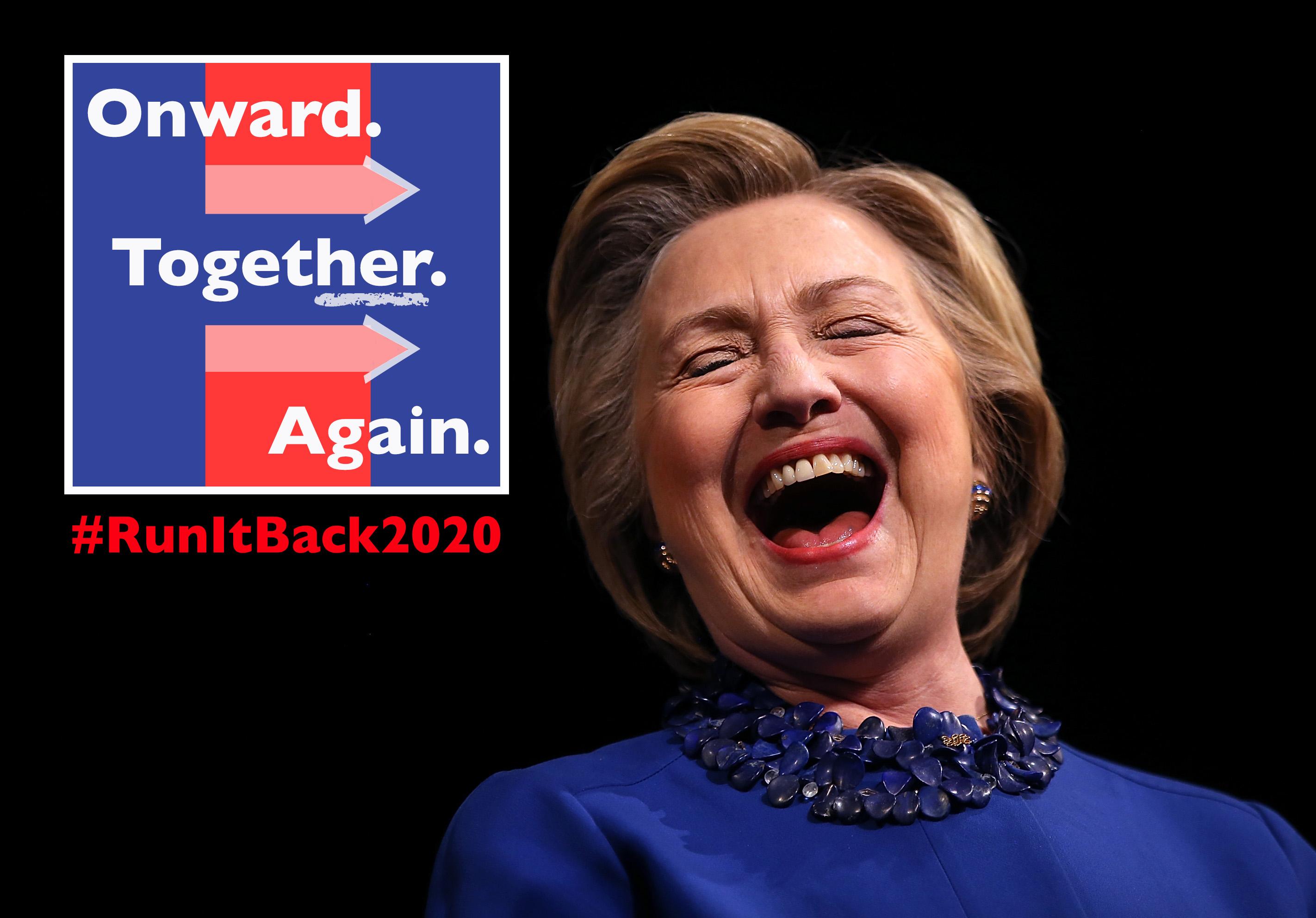 FLASHFORWARD Hillary Clinton Announces 2020 Presidential