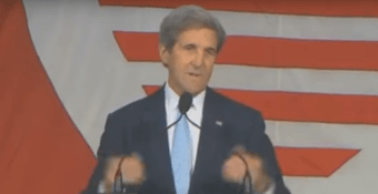 ohn Kerry Took to Stage to Make Harvard Commencement Speech. And He Just Had to Get Political...