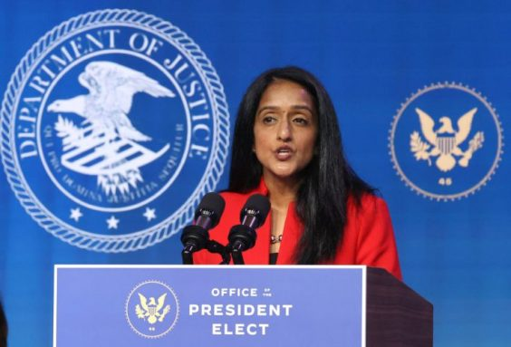 Republicans Call for Investigation Into Newly Confirmed Vanita Gupta