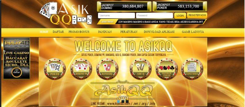 Asikqq Agen PokerV terbaik di indonesia