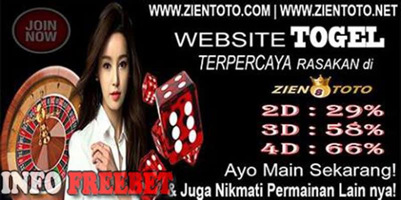 Freebet Togel Sebesar 5000 dari ZienToto Tanpa Deposit
