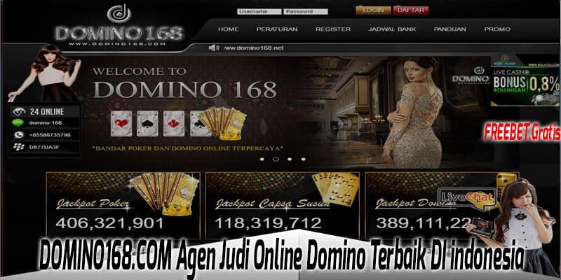 DOMINO168.COM Agen Judi Online Domino Terbaik Di indonesia