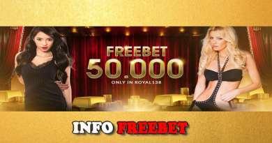 Freebet Gratis Rp 50.000 Dari ROYAL138.com