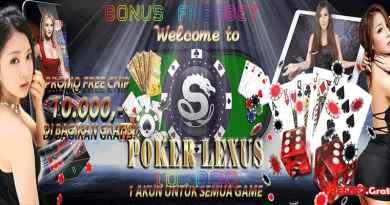 pokerlexus.com - Freebet Gratis Rp 10.000 Tanpa Deposit