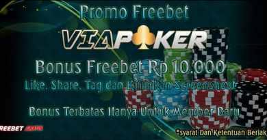 Freebet Gratis Tanpa Deposit Dari ViaPoker.com