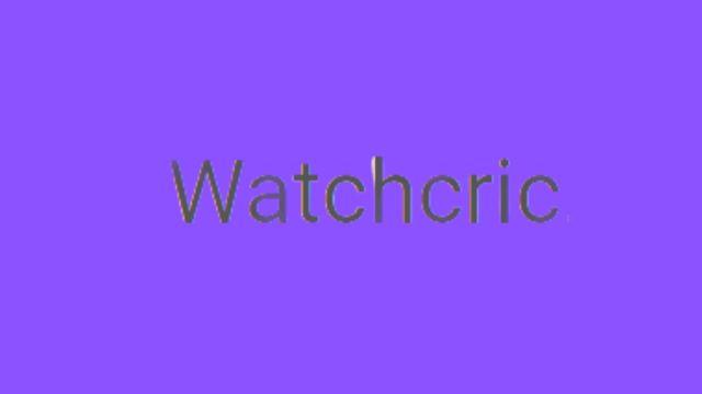 watchcric live stream logo