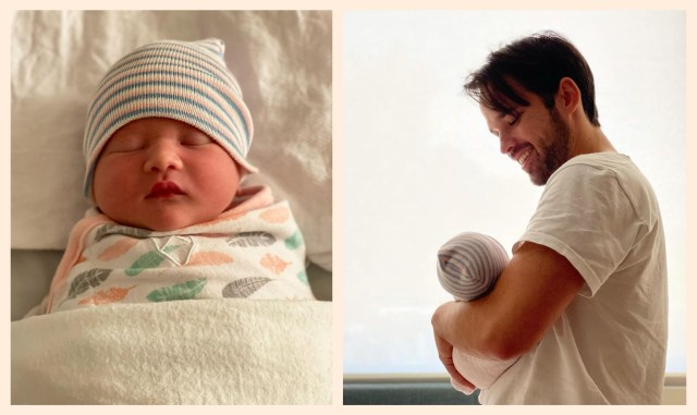 """""""Greatest Little Gifts"""": Nathan Kress and Wife London Welcome Baby Evie Elise Kress"""