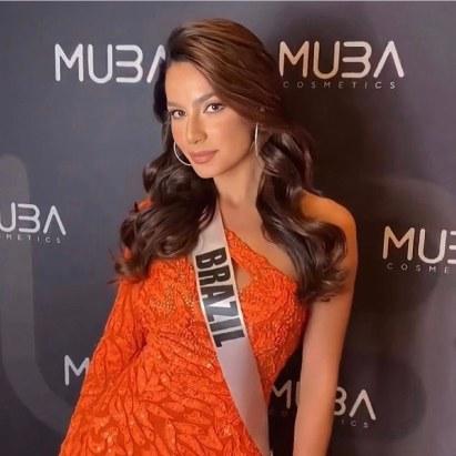 Miss Brazil greets Filipino fans in Tagalog