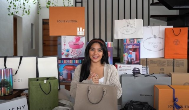 Andrea Brillantes Receives Almost One Million Pesos Worth Of Gifts For Her 18th Birthday