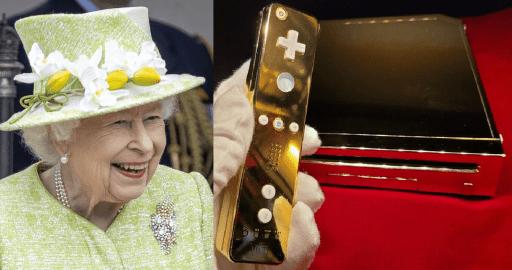 Queen Elizabeth II's 24k gold Nintendo Wii is up on eBay for P14.5M