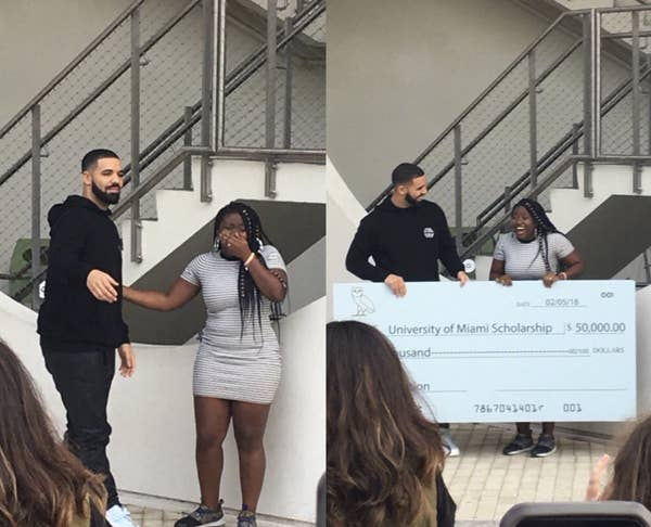 Girl from 'God's Plan' Music Video Finishes Master's with Drake's Help