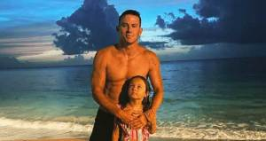 FreebieMNL - Channing Tatum Posts Sweet Photo with Daughter Everly