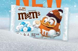 "FreebieMNL - M&M's To Launch New ""White Chocolate Pretzel Snowballs"" Flavor"