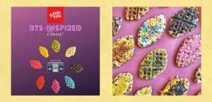 FreebieMNL -Kuro Kuro Croffle Has BTS-Inspired Flavors