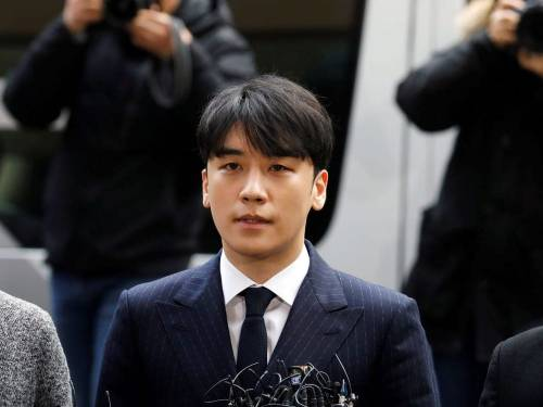 Ex-Big Bang member Seungri Sentenced to 3 Years in Prison for Prostitution