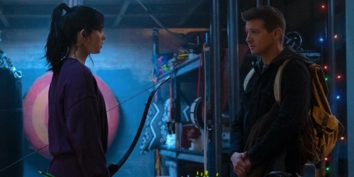 Clint Barton meets Kate Bishop in first preview of Disney's 'Hawkeye'