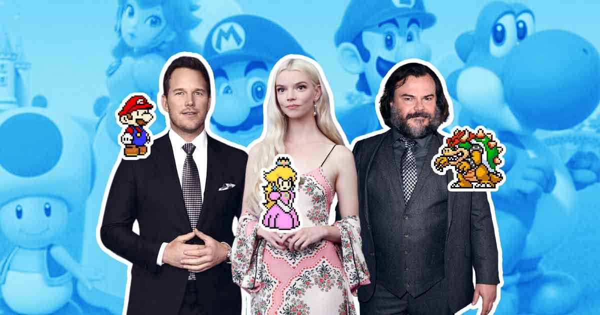 Chris Pratt, Anya-Taylor Joy, and Jack Black join cast of animated Mario film