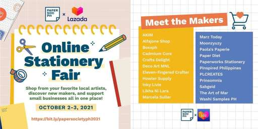 Mark Your Calendars for Paper Society's Online Stationery Fair