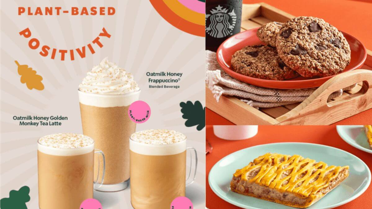 Starbucks introduces plant-based drinks and vegan-friendly food options