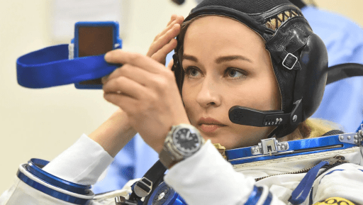 Shooting stars: Russia sends team into orbit to shoot first-ever film made in space