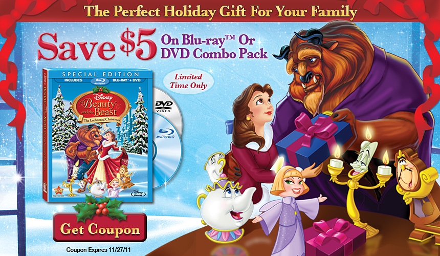 5 Off Beauty Amp The Beast The Enchanted Christmas Special
