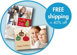 Snapfish 40 Off Holiday Cards And Free Shipping And
