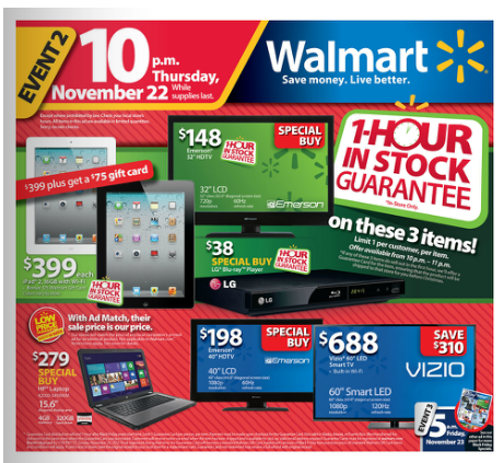 Walmarts Black Friday Amp Thanksgiving Day Ad Has Been