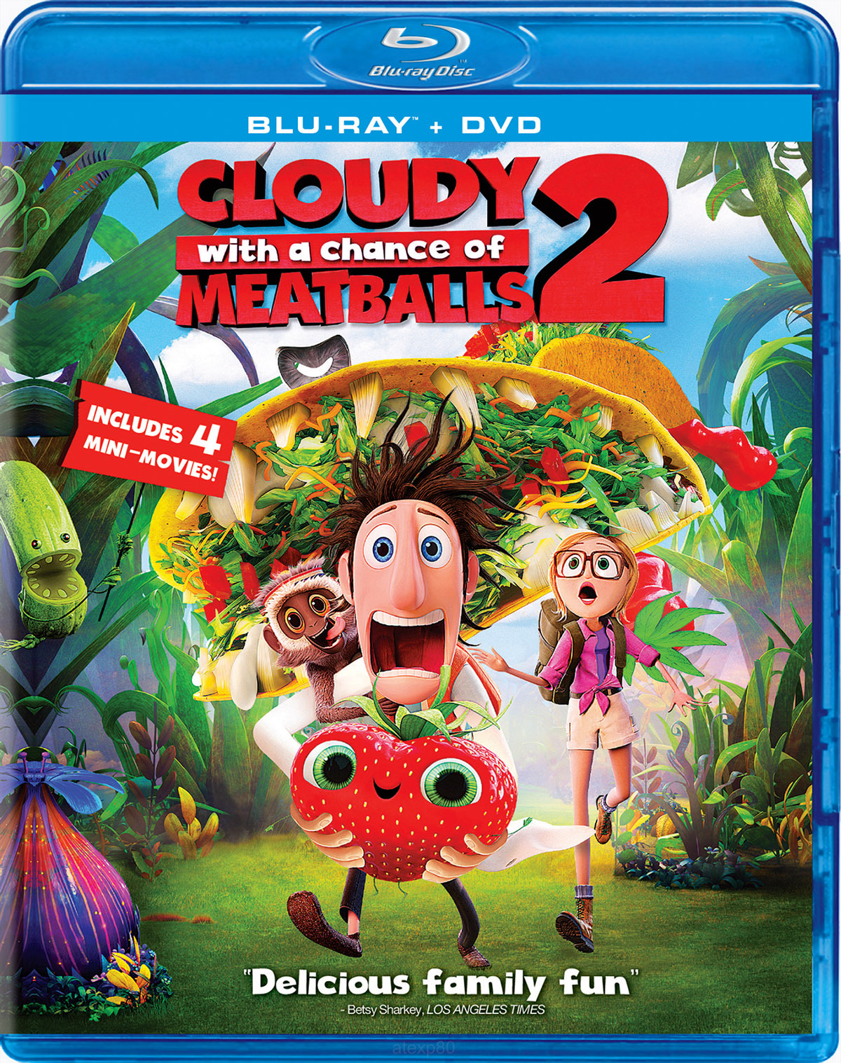 Best Buy Cloudy With A Chance Of Meatballs 2 Blu Ray Dvd