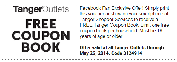 Tanger Outlet Facebook